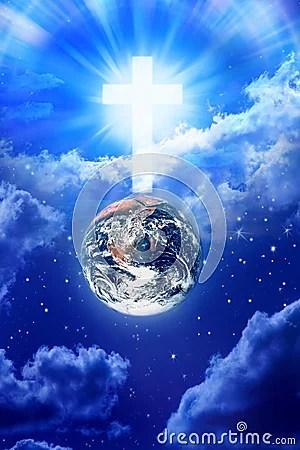 Jesus Christ 3d Wallpaper Download Heaven Cross Earth Religion God Royalty Free Stock Images