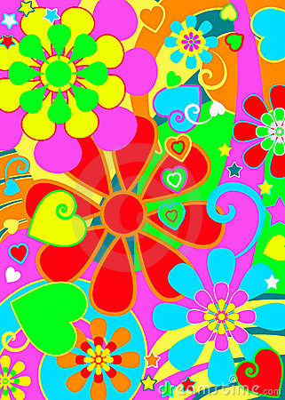 3d Animation Animals Wallpaper Hippie Chic Flower Power Stock Photo Image 13640630