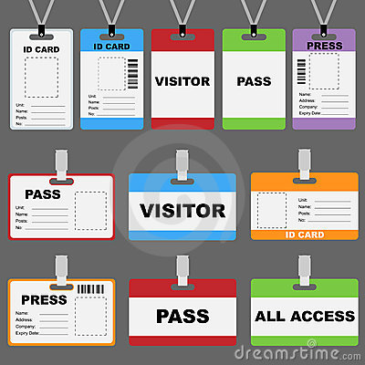Visitor Badge Template | Sample Customer Service Resume