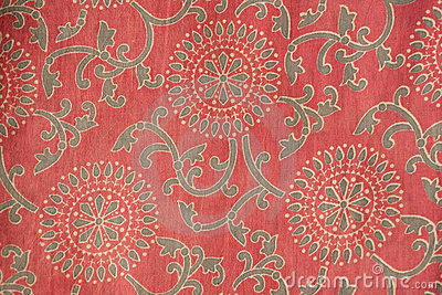 3d Animation Animals Wallpaper Indian Fabric With Traditional Design Royalty Free Stock