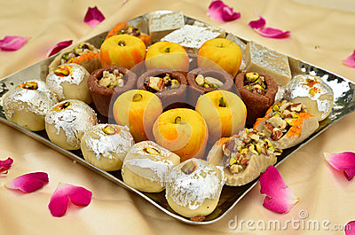 3d Wallpapers In Mumbai Indian Sweets Mithai Stock Image Image 35015831