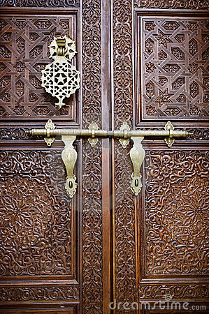 3d Palace Wallpaper Islamic Style Door Royalty Free Stock Photos Image 7935158