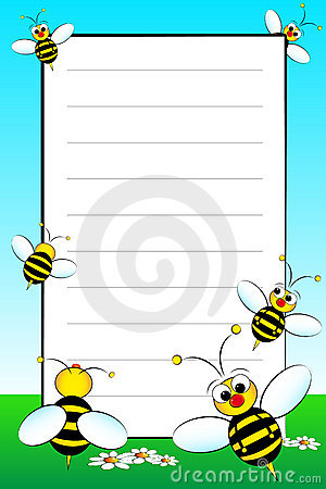 Kid Notebook With Blank Lined Page Vector Illustration - lined page