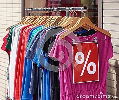 Ladieswear Fashion Sale Stock Photo Image 58175231