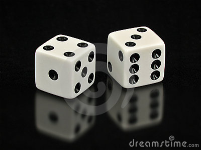 3d Dice Desktop Wallpaper Lucky Sevens White Dice On Black Background Royalty Free
