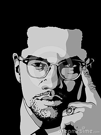 Malcolm X Wallpaper Quotes Malcolm X Editorial Stock Image Image 24597474