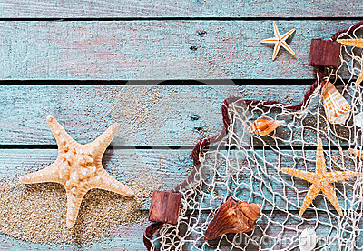 3d Fish Wallpaper Download Marine Still Life On Rustic Wooden Boards Stock Photo