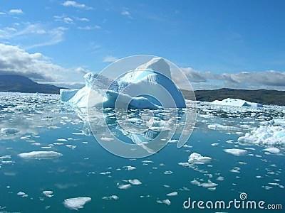 3d Bear Wallpaper Melting Iceberg At The Coast Of Greenland Stock Photo