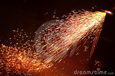 3d Wallpaper Fire Metal Welding Sparks Royalty Free Stock Images Image