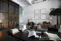 Modern Office Space Stock Photos - Image: 23626273