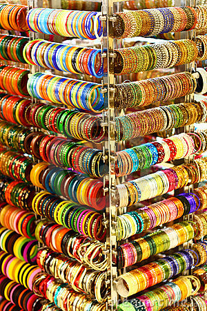Colourful Girl Wallpapers Multi Colored Bangles From India Stock Image Image 22928781