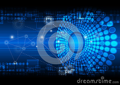 3d Animation Wallpaper Download Network Technology Background Royalty Free Stock