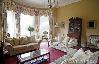 Old Fashioned Living Room Royalty Free Stock Images
