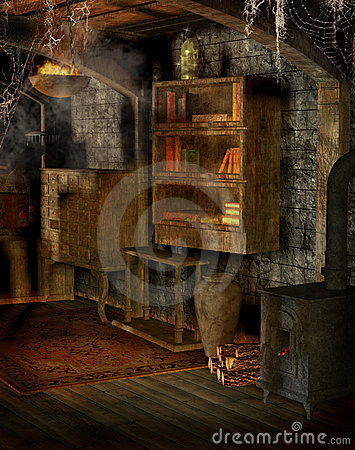 Wallpaper For Living Room 3d Old Workshop Royalty Free Stock Photography Image 17737287