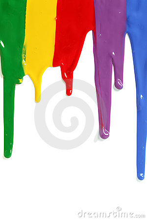 Paint Dripping. Stock Photos - Image: 24912063