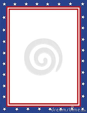 Patriotic Frames Clipart