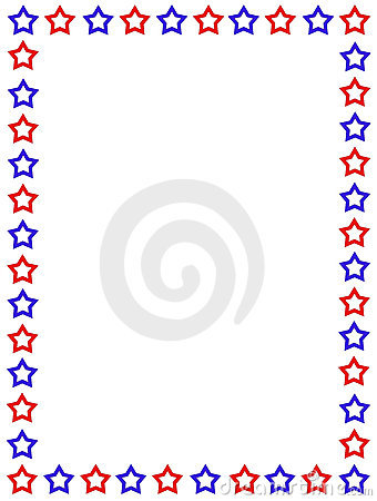 Patriotic Page Border - lektoninfo