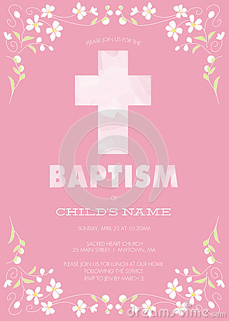 Boy And Girl Hd Wallpaper Pink Girl S Baptism Christening First Communion