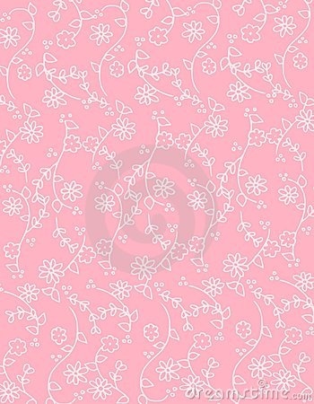 3d Pink Flower Wallpaper Pink Spring Flowers Background Pattern Royalty Free Stock