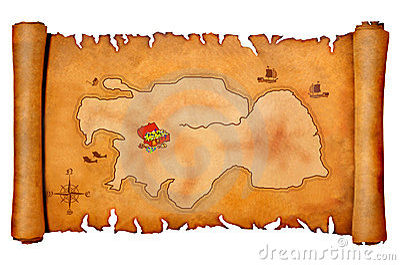Audio Car Wallpaper Download Pirate S Treasure Map Royalty Free Stock Image Image