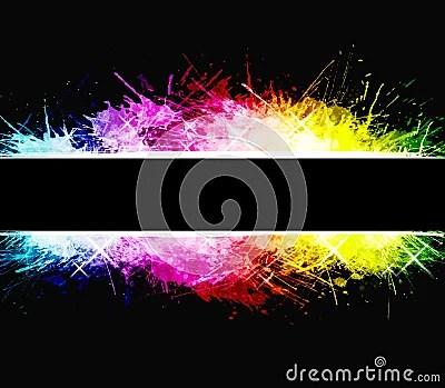 Drops Rainbow 3d Wallpaper Rainbow Celebration Watercolor Splatter Background Royalty