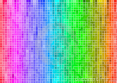 3d Rainbow Wallpaper Download Rainbow Multicolor Abstract Pixel Wallpaper Royalty Free
