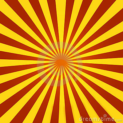 Sunrise 3d Wallpaper Red And Yellow Sunburst Stock Photos Image 9695403