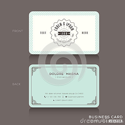 thumbsdreamstime x retro-hipster-business-card - line card template