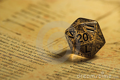 Cubes 3d Wallpaper Role Playing Game K20 Dice Royalty Free Stock Photo