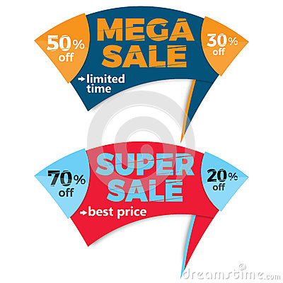 Sale Label Price Tag Banner Badge Template Sticker Design Vector - sale tag template