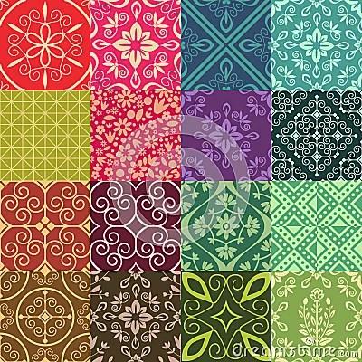Cute Tribal Print Wallpaper Seamless Pattens Stock Image Image 34723991