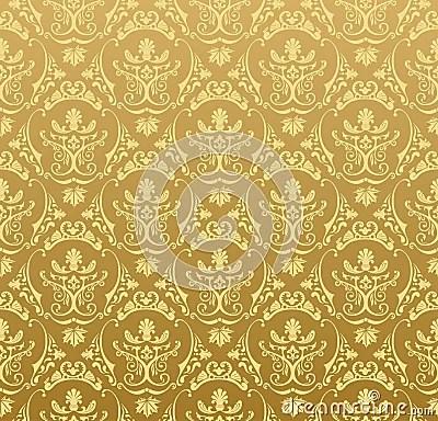 Purple And Black Damask Wallpaper Seamless Wallpaper Background Floral Vintage Gold Royalty