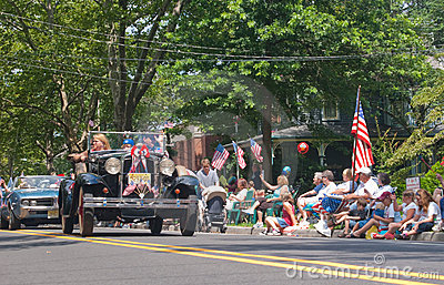 New 3d Animation Wallpaper Small Town 4th Of July Parade Editorial Image Image
