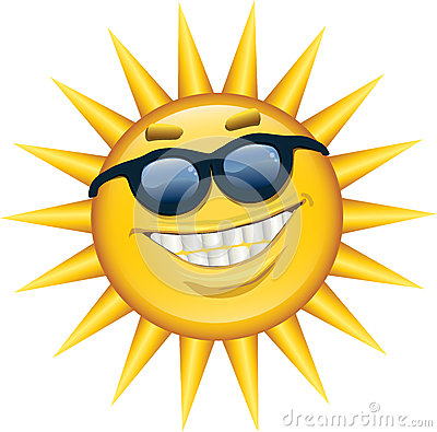 Good Afternoon 3d Wallpaper Sunshine Smile Stock Photo Image 26150720
