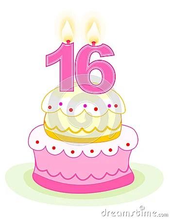 Lifeline Quotes Wallpaper Sweet Sixteen Birthday Cake Royalty Free Stock Photos