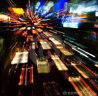 Movement Wallpaper Abstract 3d Traffic Lights In Motion Blur Stock Image Image 7892711