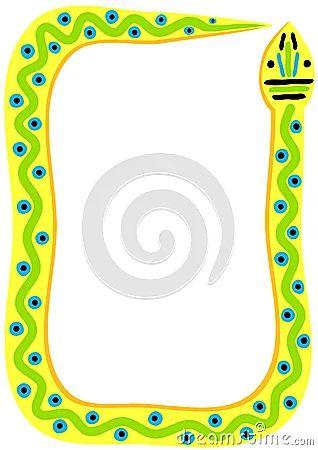 Image gallery snake borders