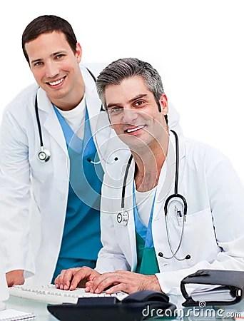 two-concentrated-male-doctors-13077568jpg (342×450) Busines - physician job description