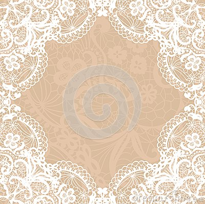 3d Heart Wallpaper Backgrounds Vintage Lace Invitation Card Stock Photos Image 33528673