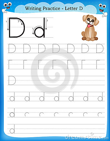 Business English Lessons For Esl Teacherseslflow Webguide Writing Practice Letter D Stock Vector Image 50726421