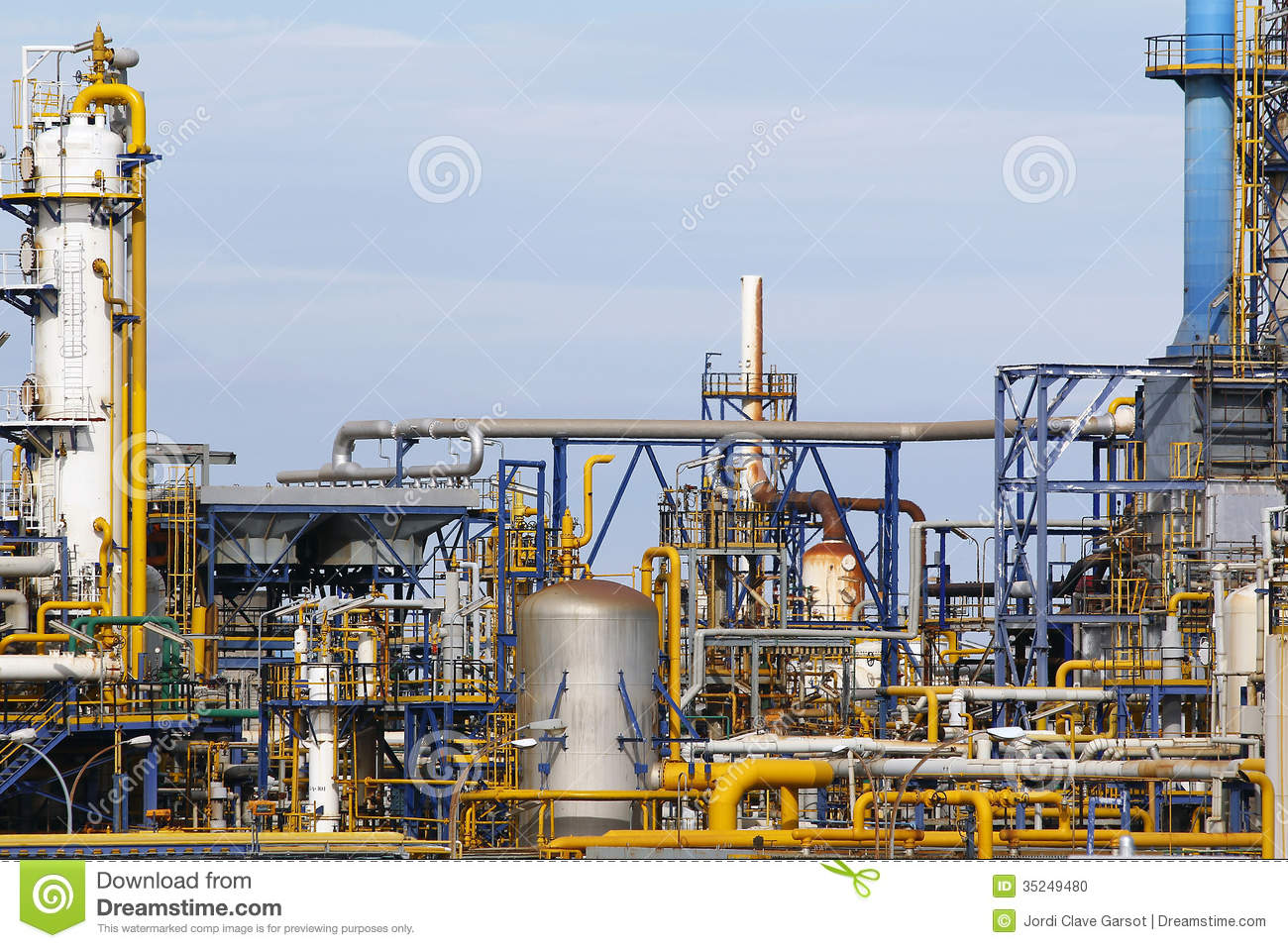 Equipements Industriels Équipements Industriels Photo Stock - Image: 35249480