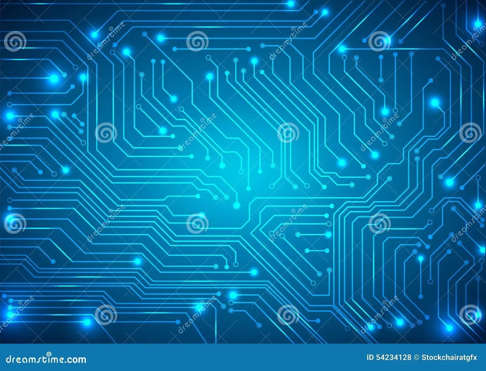 Motherboard Wallpaper 3d 与高科技电路板的抽象传染媒介背景 向量例证 图片 54234128