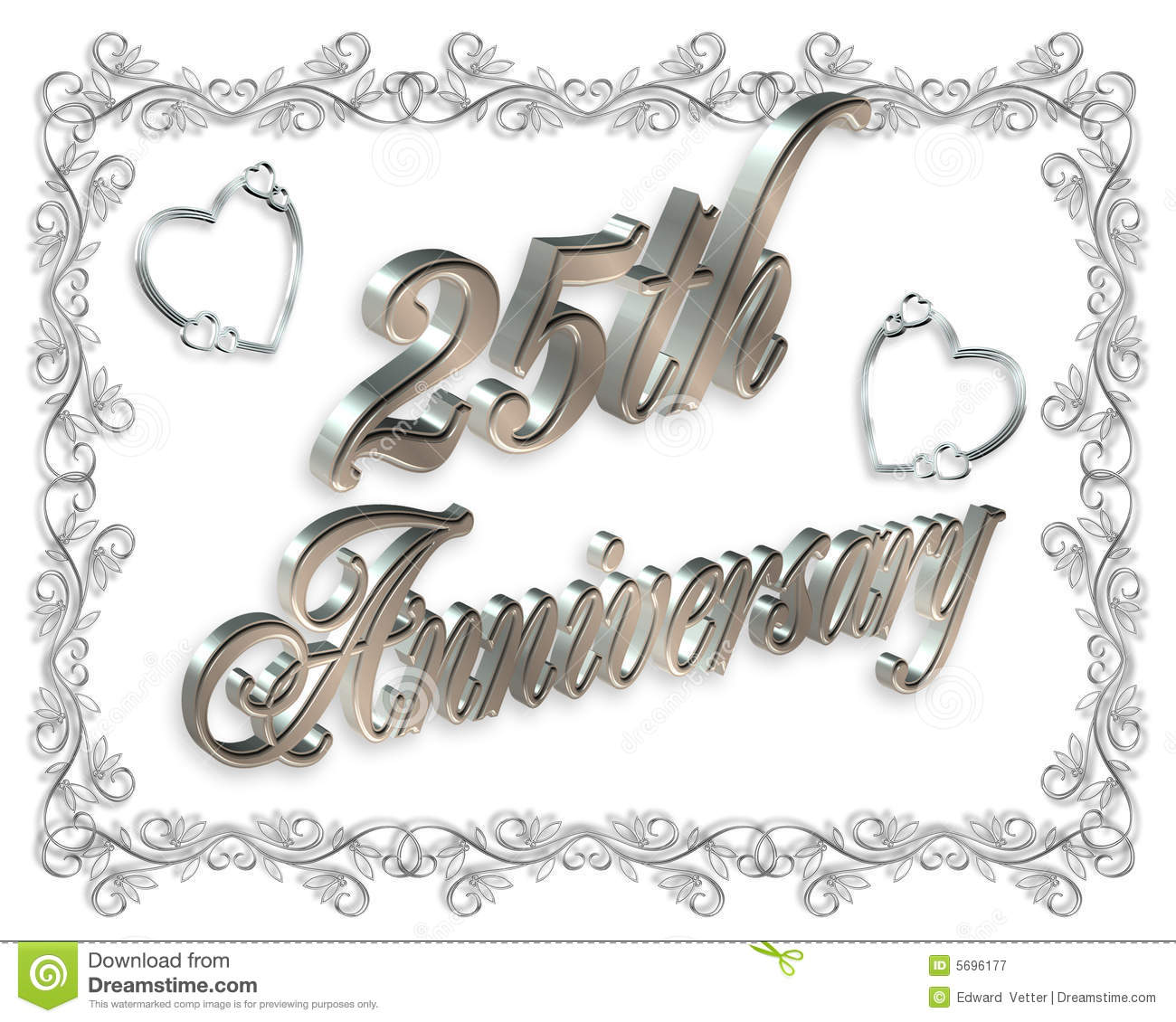 royalty free stock photography 25th wedding anniversary image 25th wedding anniversary 25th wedding Anniversary