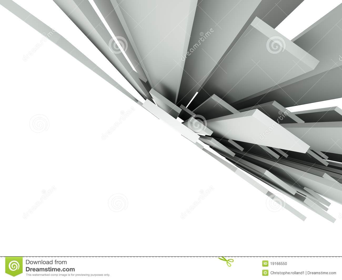 Movement Wallpaper Abstract 3d 3d Abstract Architectural Background Stock Illustration
