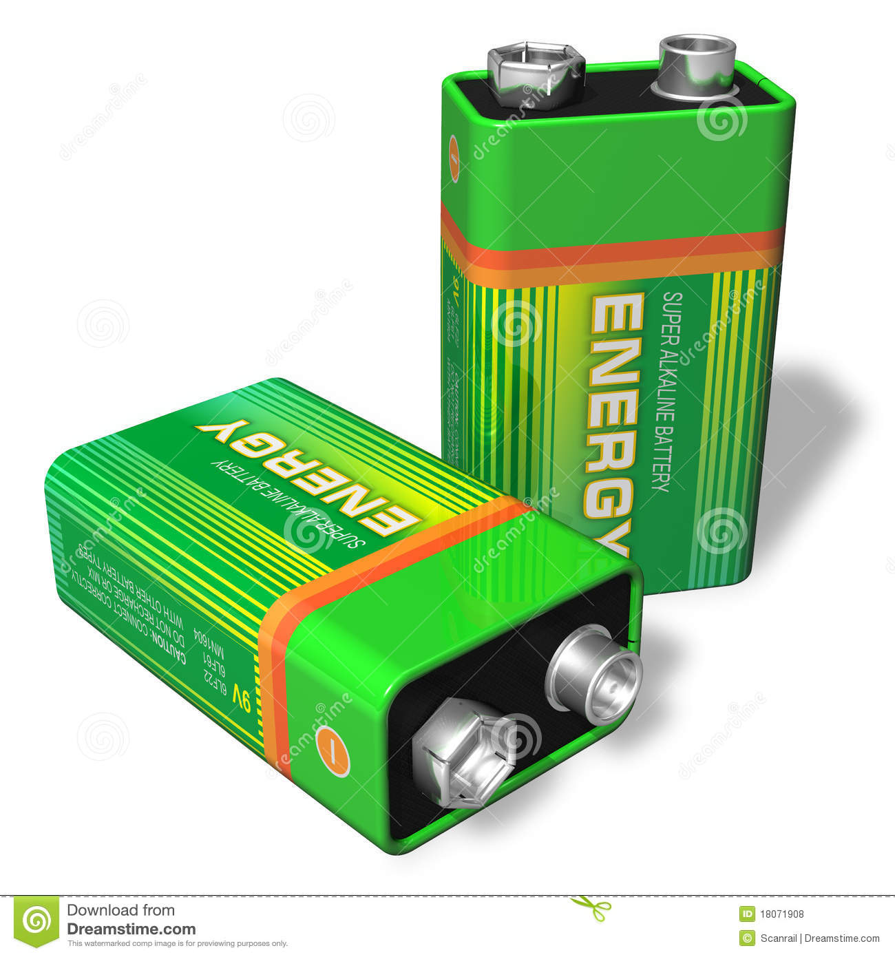 Batterie 9v 9v Batteries Royalty Free Stock Photos Image 18071908