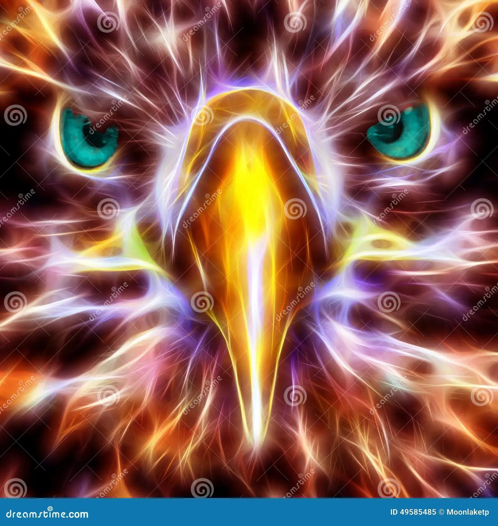 Neon Animal Print Wallpaper Abedabun The Sea Eagle Stock Illustration Image Of