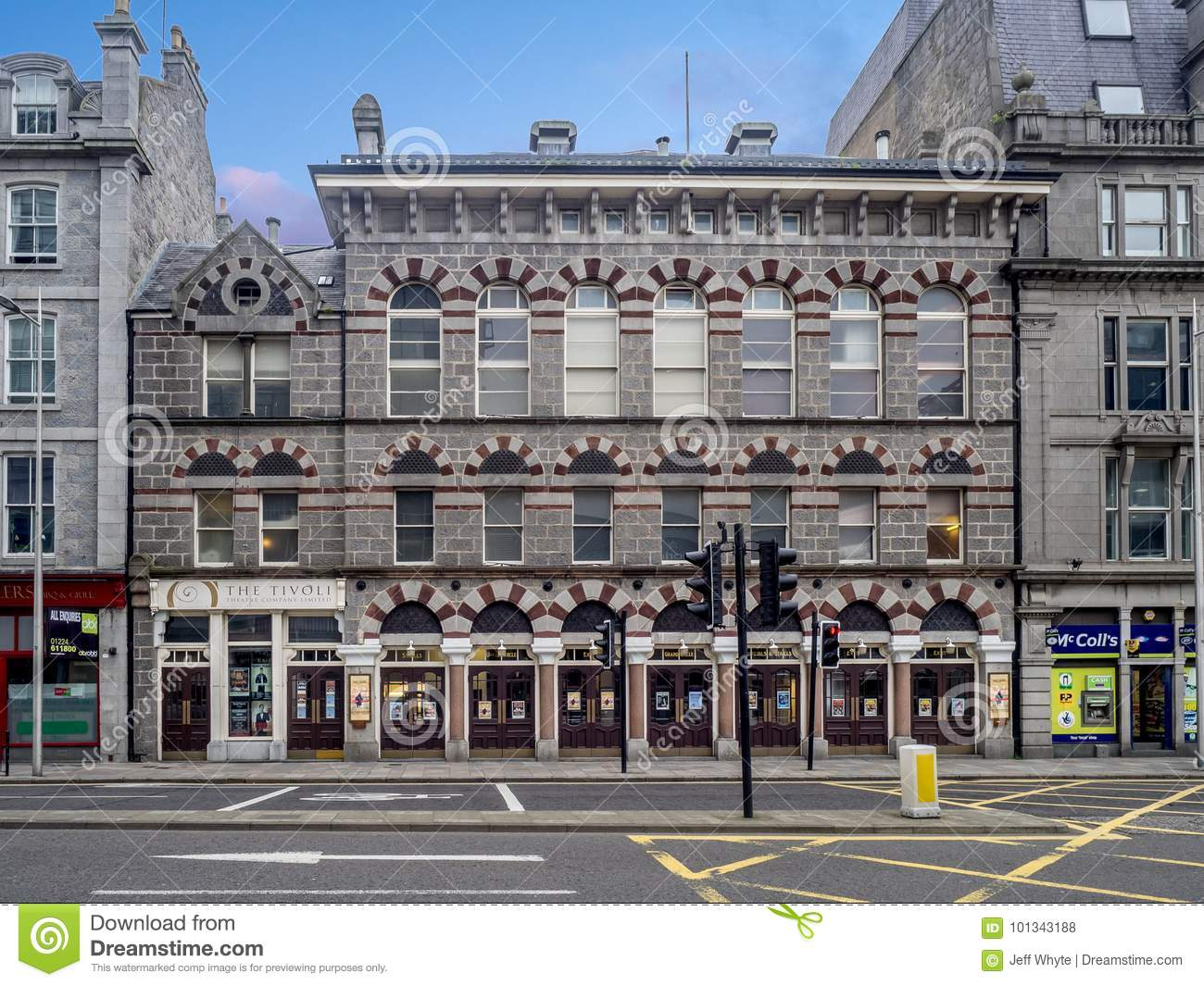 Tickets For Tivoli Theatre Aberdeen Tivoli Theatre In Aberdeen Editorial Stock Photo Image Of 2017