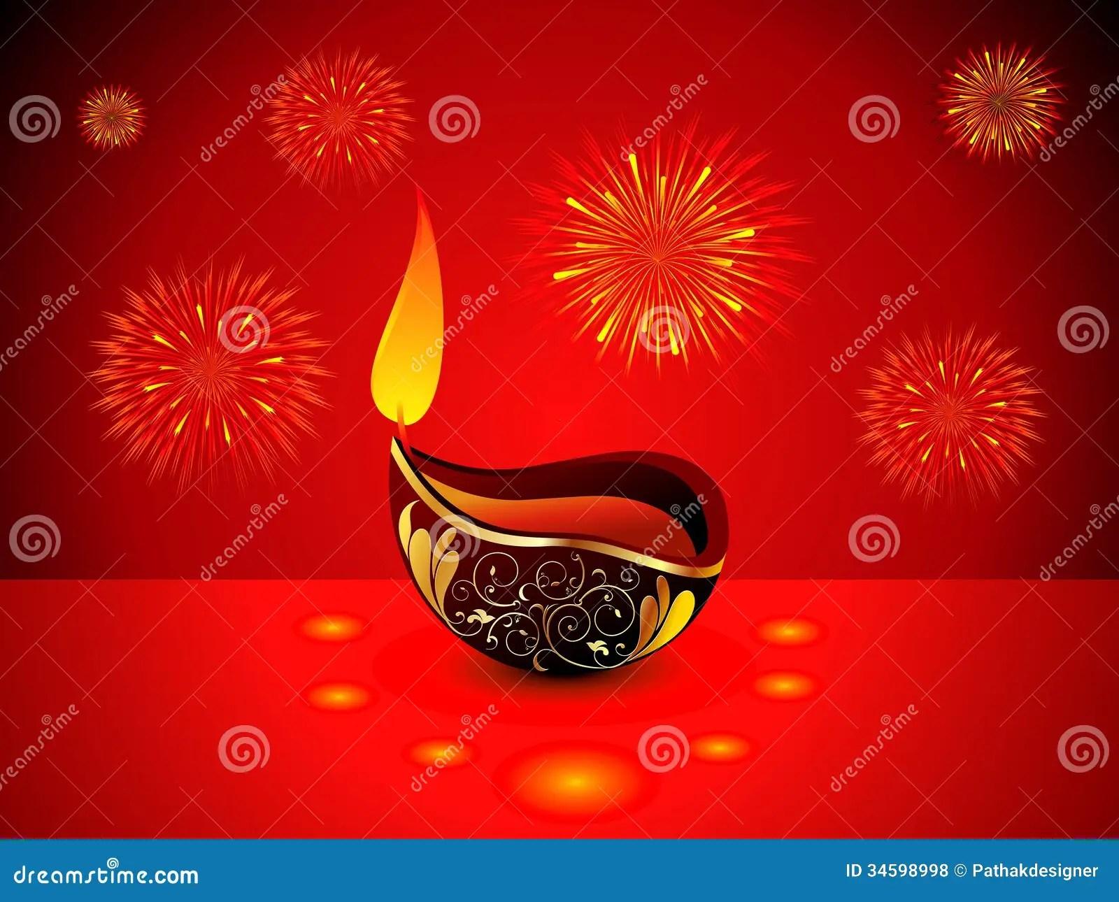 Diya Wallpaper Hd Abstract Artistic Diwali Background Royalty Free Stock