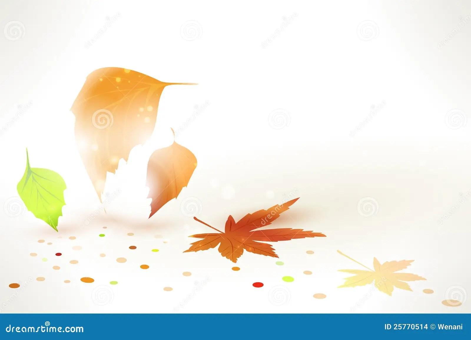 Lauren Conrad Fall Wallpaper Abstract Autumn Leaves Vector Background Stock Vector
