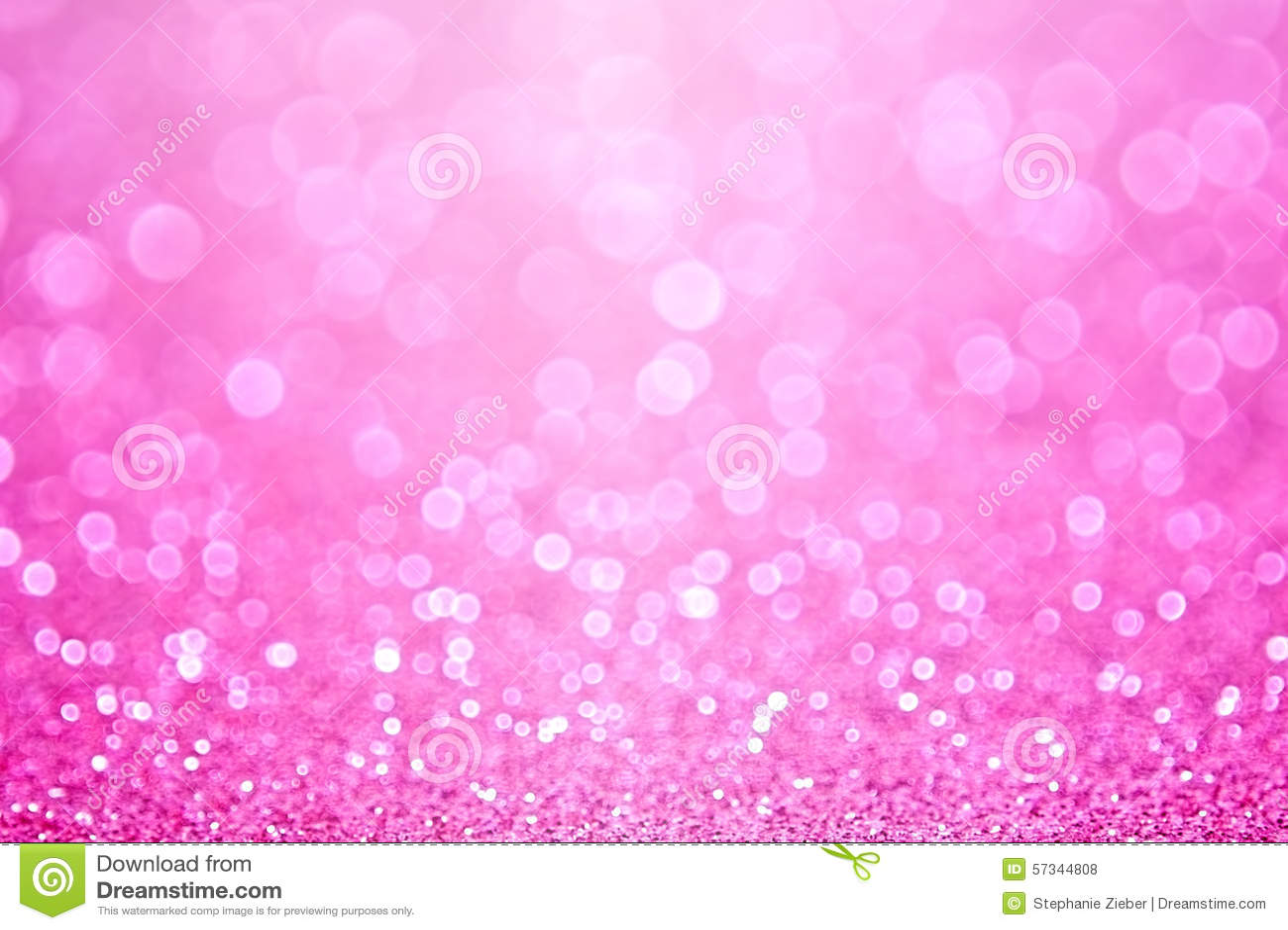 Cute Wedding Cartoon Wallpaper Pink Princess Baby Girl Birthday Background Stock Photo